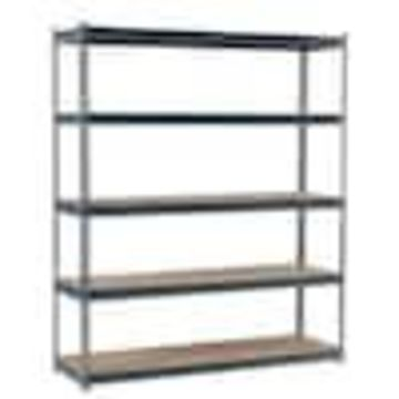 edsal 18-in D x 72-in W x 72-in H 5-Tier Steel Freestanding Shelving Unit