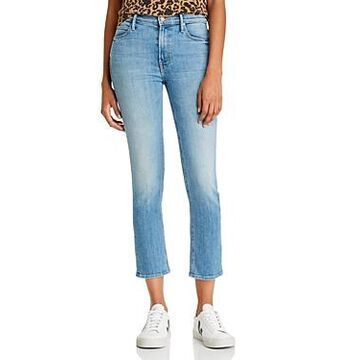 Mother The Dazzler Ankle Straight-Leg Jeans in Camp Expert