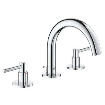 Grohe Atrio Widespread Bathroom Sink Faucet Kit with Lever Handles