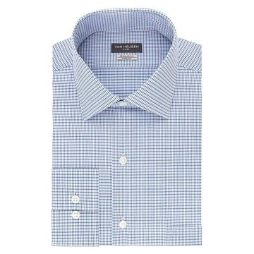 Big & Tall Van Heusen Flex-Collar Dress Shirt, Men's, Size: 18.5 38/9T, Dark Blue