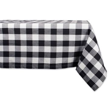 Design Imports Buffalo Check Tablecloth