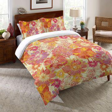 Laural Home Sunshine Blooms Comforter