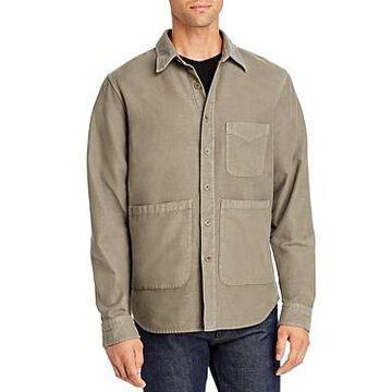 Aspesi Moleskin Regular Fit Shirt Jacket