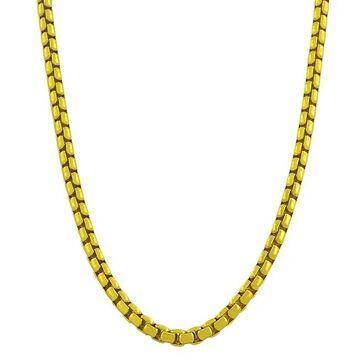 Fremada Gold over Silver 20-inch 3.8-mm Round Box Chain (20-inch)