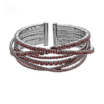 Simply Vera Vera Wang Rhinestone Bangle Bracelet