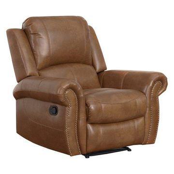 Abbyson Living Jenner Leather Armchair