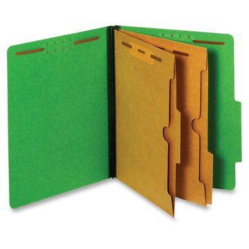 Pendaflex Pocket Divider Classification Folders - Letter - 8 1/2