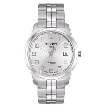 Tissot Men's 'PR 100' Stainless Steel Watch