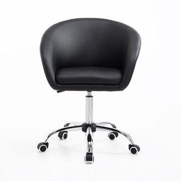 Hydraulic Rolling Doctor Dentist Tattoo Stylist Leather Adjustable Bucket Chair