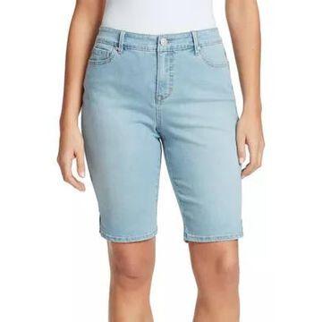 Gloria Vanderbilt Women's Mid Rise Bermuda Shorts -