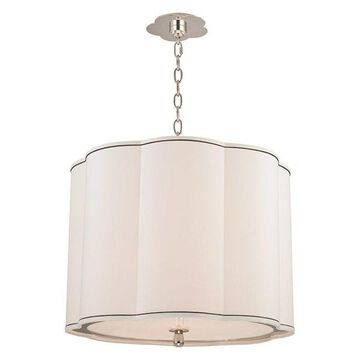 Hudson Valley Sweeny Pendant Light Polished Nickel