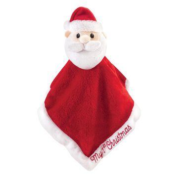 Hudson Baby Protective Blankets Santa - Santa Plushy Security Blanket