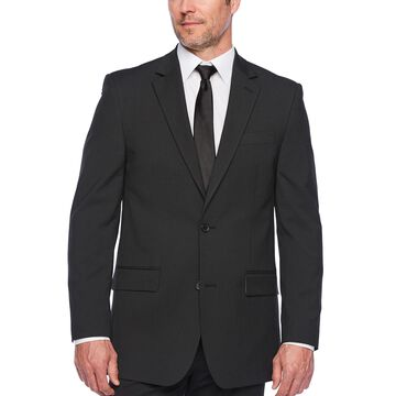IZOD Black Striped Suit Jacket