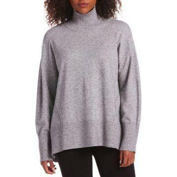 Rafaella Women's Mock Neck Oversized Tunic -