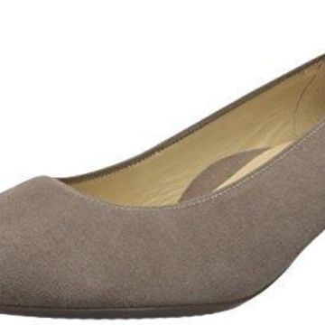 ARA Women's Kelly Pump, Taupe Suede, 7 M US