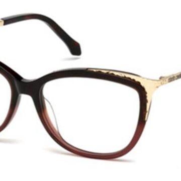 Roberto Cavalli RC 5031 CAMPORGIANO 056 Womenas Glasses Brown Size 54 - Free Lenses - HSA/FSA Insurance - Blue Light Block Available
