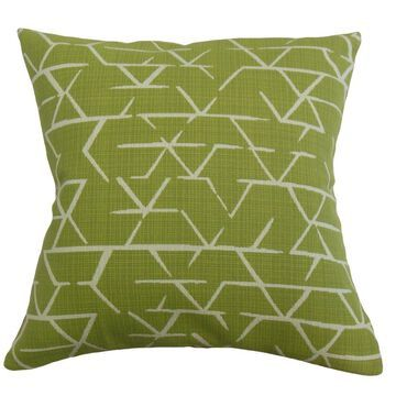 The Pillow Collection Umatilla Geometric Decorative Throw Pillow