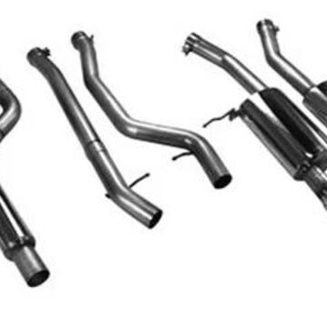 2011 BMW 3-Series aFe Exhaust Systems, Axle Back Exhaust - MACH Force XP Series