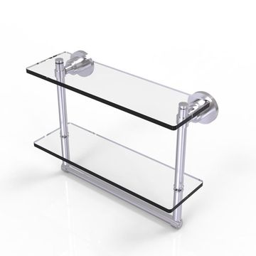 Allied Brass Washington Square-Tier Bathroom Shelf