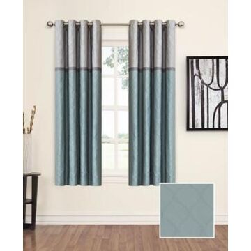 """Eclipse Arno Thermalayer Blackout 52"""" x 63"""" Curtain Panel"""