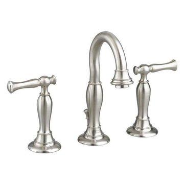 American Standard 7440.801 Quentin Widespread Bathroom Faucet, Satin Nickel