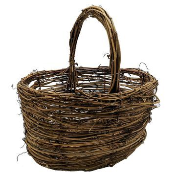 Natural Rattan Basket by Celebrate It