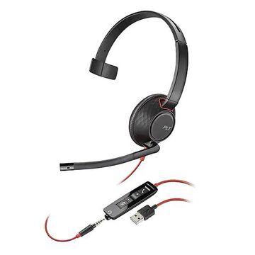 Plantronics Blackwire 5200 Series USB-A Mono Headset (207577-01)