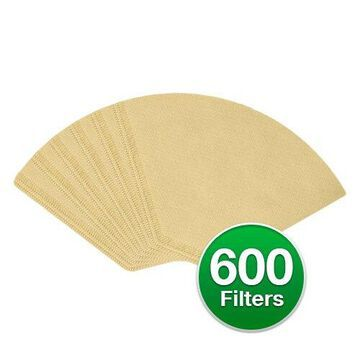 Replacement Coffee Paper Filter for Cuisinart 622752 / #2 Cone Filters (6-Pack) Replacement Coffee Paper Filter