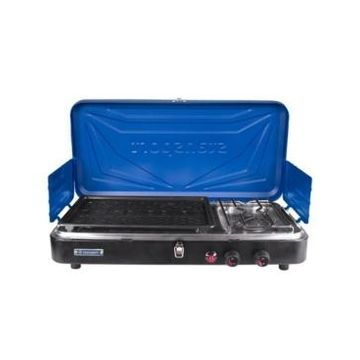 Stansport Propane Stove And Grill Combo