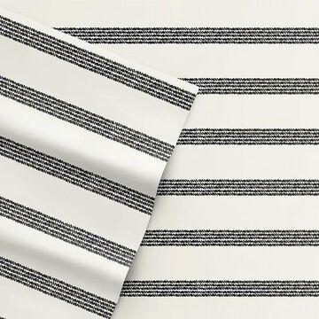 ED Ellen DeGeneres Twill Stripe Sheet Set, Multicolor, FULL SET