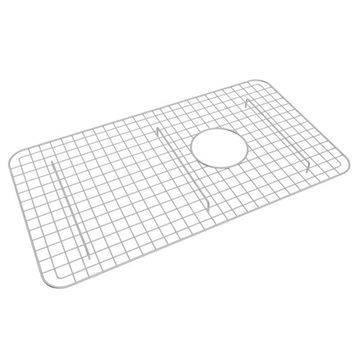 Rohl 26.38-in x 14.5-in Stainless Steel Sink Grid
