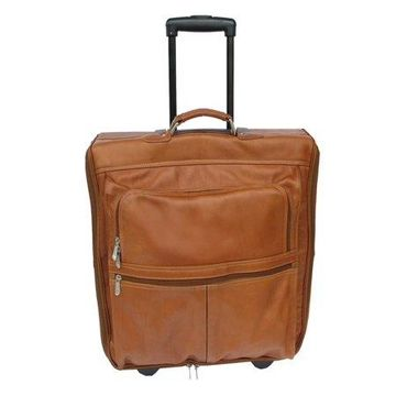 Piel Leather GARMENT BAG ON WHEELS