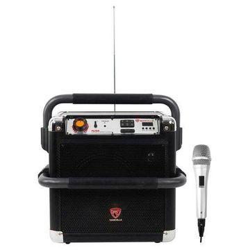 ''Rockville RJS8 8'''' Portable Heavy Duty Rechargable Bluetooth Speaker+Microphone''