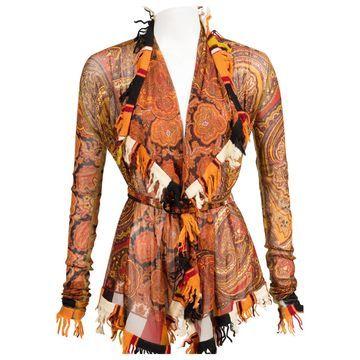 Jean Paul Gaultier Orange Viscose Knitwear