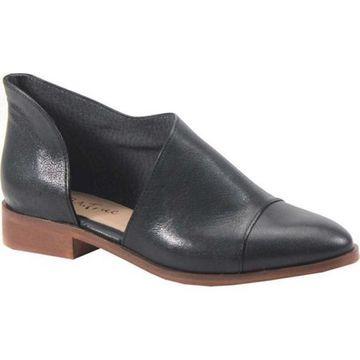 Diba True Women's No Way Out Slip On Black Leather