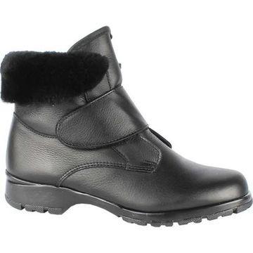 Toe Warmers Women's Michigan 2 Waterproof Ankle Boot Black Leather