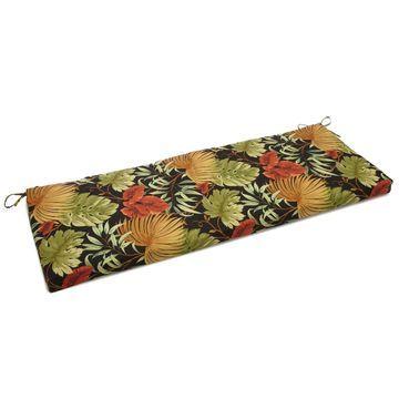 Blazing Needles 54-inch Designer Bench Cushion