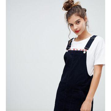 Bershka cord overall dress