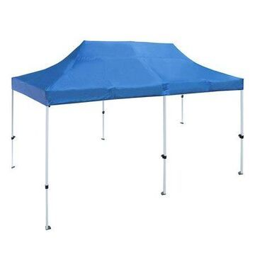 ALEKO GZF10X20BL 10x20 Feet Gazebo Tent 420D Oxford Canopy Party Tent, Blue Color