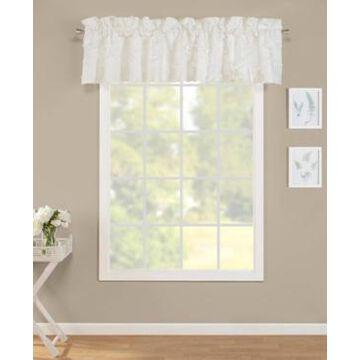 Laura Ashley Adelina White Window Valance Bedding
