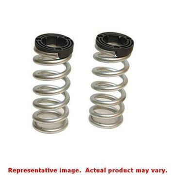 Belltech 23452 Lowering Springs, Powdercoated Silver, Front