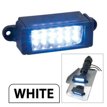 Perko surface mount trim tab underwater light - white