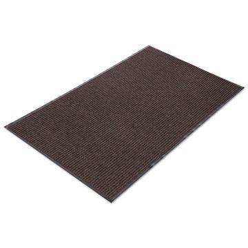 Crown Needle Rib Wipe & Scrape Mat Polypropylene 36 x 120 Brown NR0310BR