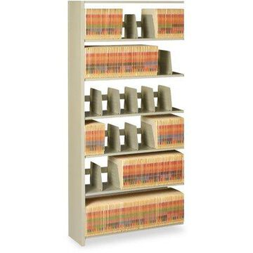 Tennsco Shelf Add-on Unit, Sand