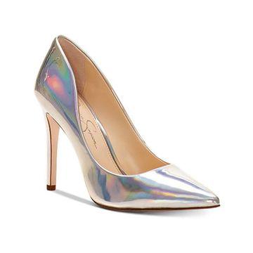Jessica Simpson Cassani3 Iridescent Stiletto Heeled