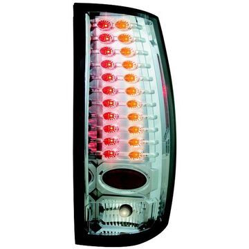 IPCW 07-10 Chevrolet Suburban/Tahoe Tail Lamps LED Crystal Clear/Ambr LEDT-311CA