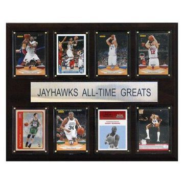 C&I Collectables NCAA Basketball 12x15 Kansas Jayhawks All-Time Greats Plaque