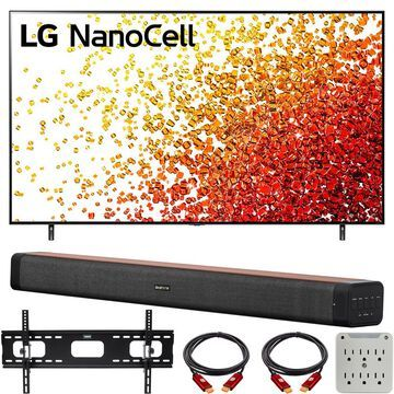 LG 86NANO90UPA 86 Inch 4K Nanocell TV 2021 with Deco Home 60W Soundbar Bundle