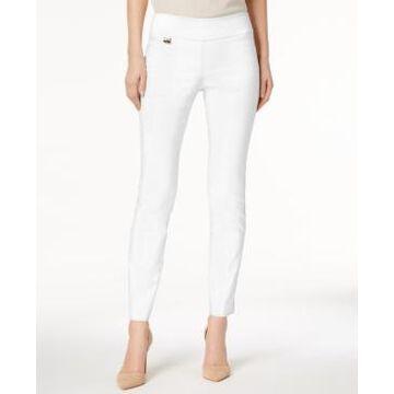 Alfani Petite Tummy-Control Pull-On Skinny Pants, Petite & Petite Short, Created for Macy's