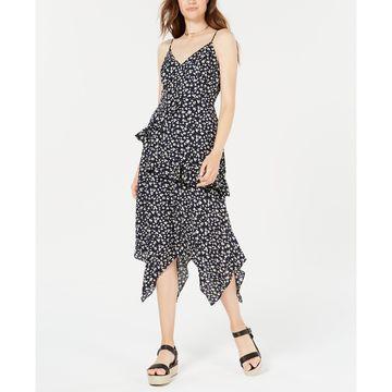 Juniors' Ruffled Maxi Dress